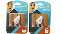 Safety 1st Lazy Susan Cabinet Lock, 2 Pack (Outer Packaging Damaged)
