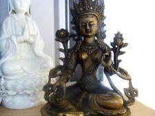 GUANYIN goddess of Mercy Buddha brass statue