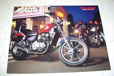 Kawasaki 1985,454Ltd  EN450 - A1 , NOS  Sales Brochure 4 Pages