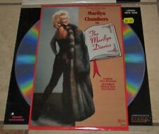 THE MARILYN DIARIES Laserdisc Very Good Rare Marilyn Chambers