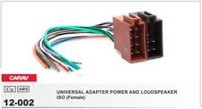 CARAV 12-002 Conector ISO Universal Alimentacion Altavoces Hembra Adaptador
