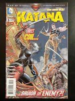KATANA #5a (2013 The New 52, DC Comics) ~ VF/NM Comic Book