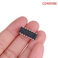 10 pcs CD4093BE inline DIP-14 Schmitt trigger chip UR