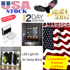 Vanity Mirror With Lights Light Set Led Makeup Fixture Kit Hollywood Style BEST