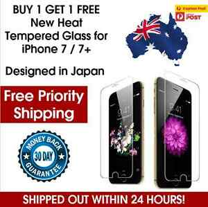 2 X Premium Tempered Glass Screen Protector iPhone 7 / 7+ FREE PRIORITY POSTAGE