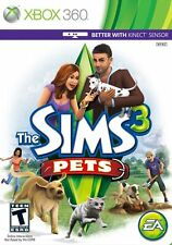 The Sims 3: Pets [Xbox 360, NTSC, Real Life Simulator Cute Animals] NEW