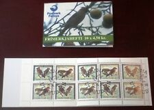 Faroe Stamp Booklet #11 1996 Birds Crossbill & Waxwing - FDC - Excellent!