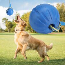 Pet Dog Puppy Cat Training Dental Toy EVA Rope Knot Ball Chew Treat Toys 9cm
