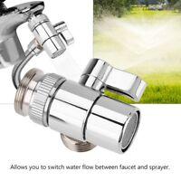 Messing G1/2 Wasserhahn Umschaltventil Umsteller Ventil Dusche Schlauch Adapter