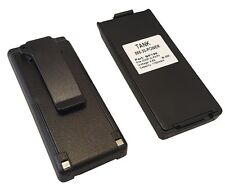 2 x 1100mAh BP-195 BP-196 Battery for ICOM IC-A4E IC-F3S IC-F4S IC-F4TR IC-T2A