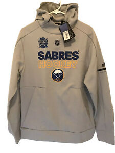 Adidas Eichel #15 Hoodie Buffalo Sabres NHL Winter Classic Climacool Mens Size S