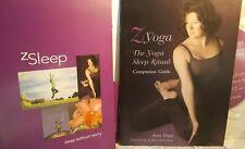 The Yoga Sleep Ritual DVD and CD Set by Z yoga