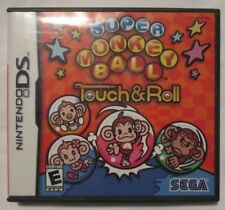 Nintendo DS Super Monkey Ball : Touch & Roll (Manual, box and game)
