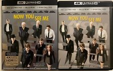 NOW YOU SEE ME 4K ULTRA HD BLU RAY 2 DISC SET + RARE SLIPCOVER SLEEVE BUY IT NOW