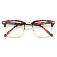 044f4fededb 60s Retro Malcolm X Horn Rim Hipster Vintage Glasses Tortoise - Malcom