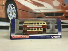 CORGI OMNIBUS - CROSSLEY DD42 - LANCASTER CITY TRANSPORT - 1/76 SCALE - OM41605B