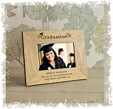 Engraved Graduation Day Photo Frame Personalised Gift for Him or her keepsake  7