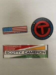 Scotty Cameron Sticker Pack Includes All 3 Pictures