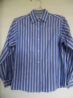 Talbots Woman's striped wrinkle resistant Long sleeve Shirt Top Blouse Sz 4P