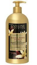 EVELINE LUXURY EXPERT BLACK & WHITE VANILLA DEEPLY MOISTURIZING BODY MILK