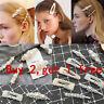 Pearl Word Letters Hair Clip Slide Hair Pin Barrette Bridal Hair Accessory 520