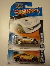 Hot Wheels Nissan 350Z Nigthburnerz Set Of 2