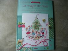 Livre LA MAGIE DE NOEL Points de croix VERONIQUE ENGINGER cross stitch