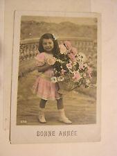 Bonnie Annee, Little Girl #638 1930's Post Card (GS19-32)