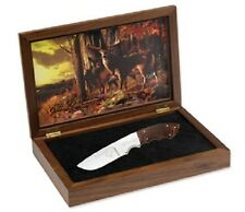 Browning Whitetail Legacy Limited Edition Fixed Blade Knife Burl Wood Handle 247