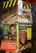 Lot de 2 Salaire de la Peur Le Camion le Pétrole Yves Montant Charles Vanel 1953