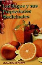 NEW Los Jugos y sus Propiedades Medicinales (RTM Ediciones) (Spanish Edition)