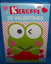 NIB Valentines Day Cards (Box of 32) Keroppi