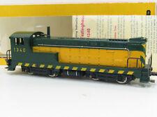 Fleischmann 1340 a US Baldwin Locomotive vert/jaune toooooppppp neuf dans sa boîte fa2