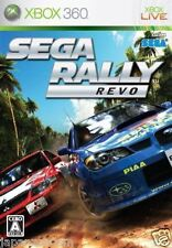 Used Xbox 360 SEGA Rally Revo MICROSOFT JAPAN JP JAPANESE JAPONAIS IMPORT