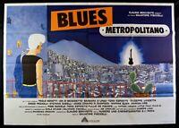 Manifesto Blues Metropolitan Pino Daniele Tony Esposito Senese Scozzari M273