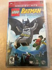 LEGO Batman: The Videogame (Sony PSP, 2008) GREATEST HITS PSP NEW
