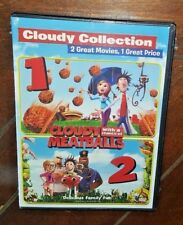 Cloudy with Chance of Meatballs/Cloudy with Chance of Meatballs 2 (DVD, 2015)