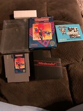 Nintendo Nes Game Gun.Smoke Complete In Box CIB