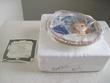 Barbie Doll 3D Collector Plate MIDNIGHT BLUE Forever Glamorous Barbie 4th