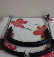 Zip On Faux Leather Covers For Bugaboo Cameleon 1&2 Handlebar Plus Bumper Bar