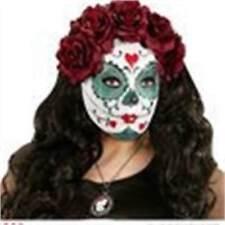 Maschere rosso Widmann in poliestere per carnevale e teatro