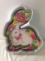 Wilton Bunny Easter Rabbit Cake Pan 2105-175 Aluminum Cake Mold Baking Cooking