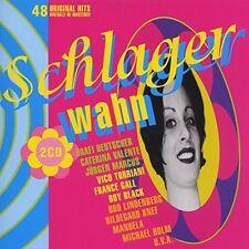 Schlagerwahn-48 original Hits re-mastered (Telefunken) Drafi Deutscher .. [2 CD]