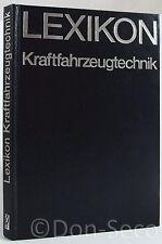 Lexikon Kraftfahrzeugtechnik. Schnitzerlein/Pertzsch 1976