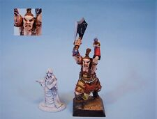 Confrontation painted miniature Barbarian Giant