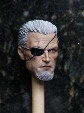 """Deathstroke 1/6 Male Head Sculpt  Carving Slade Joseph Wilson for 12"""" Figure Toy"""