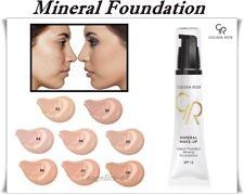 Golden Rose Mineral Foundation  Liquid Powder SPF 15 Hydrates the Skin  35 ml