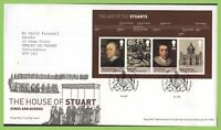 G.B. 2010 The Age of Stuart M/S Royal Mail First Day Cover, Tallents House
