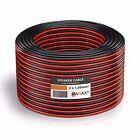 50m (2 Anillos cada uno 25m) Cable conductor doble 2x 1,5mm² rojo/negro 2-adrig