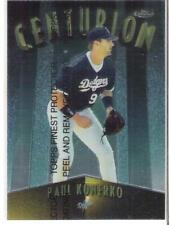 1998 FINEST PAUL KONERKO CENTURION #rd 500
